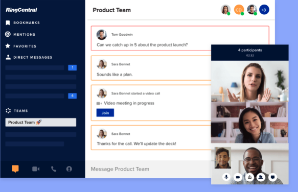 RingCentral vs. Microsoft Teams: Features