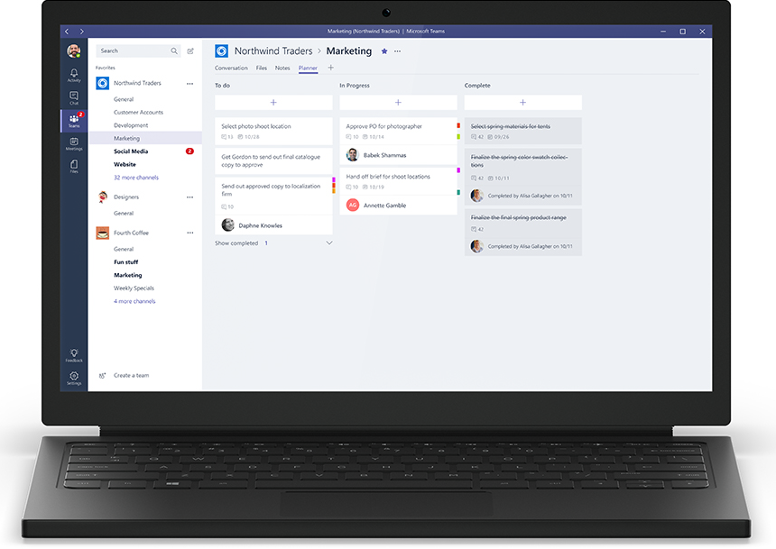 Microsoft Teams vs. RingCentral: Features