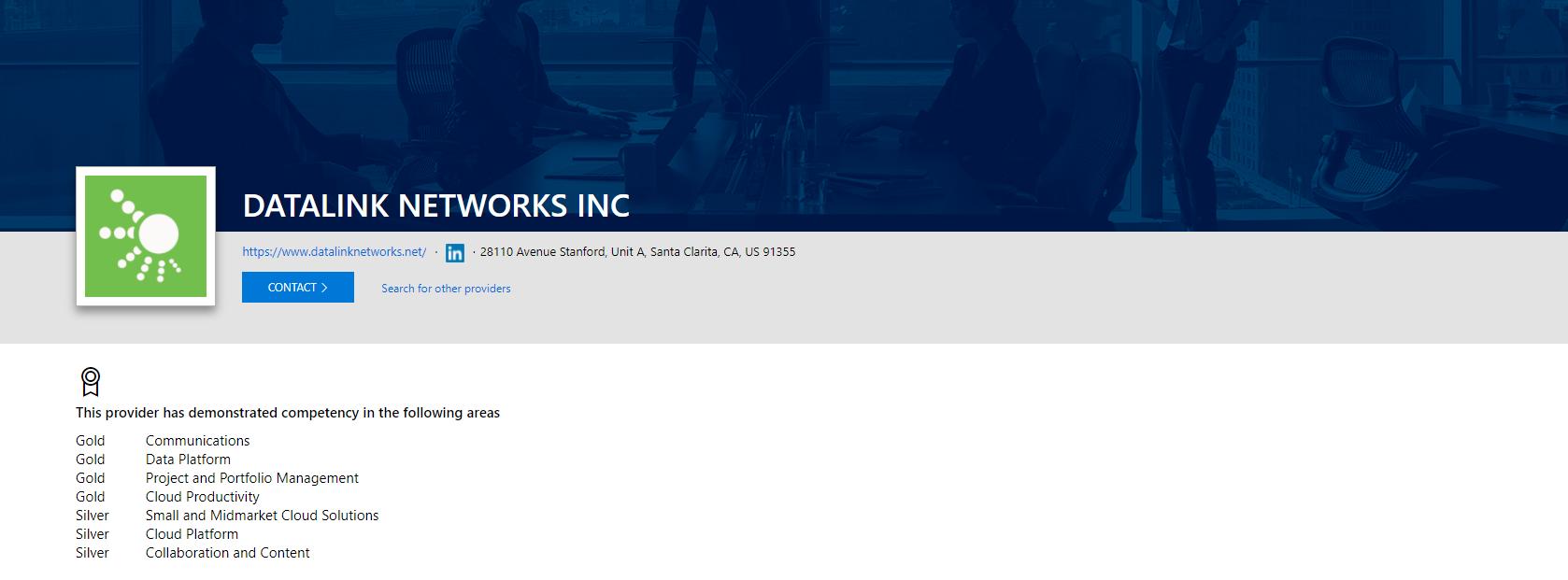 Datalink Networks - Microsoft Gold Partner