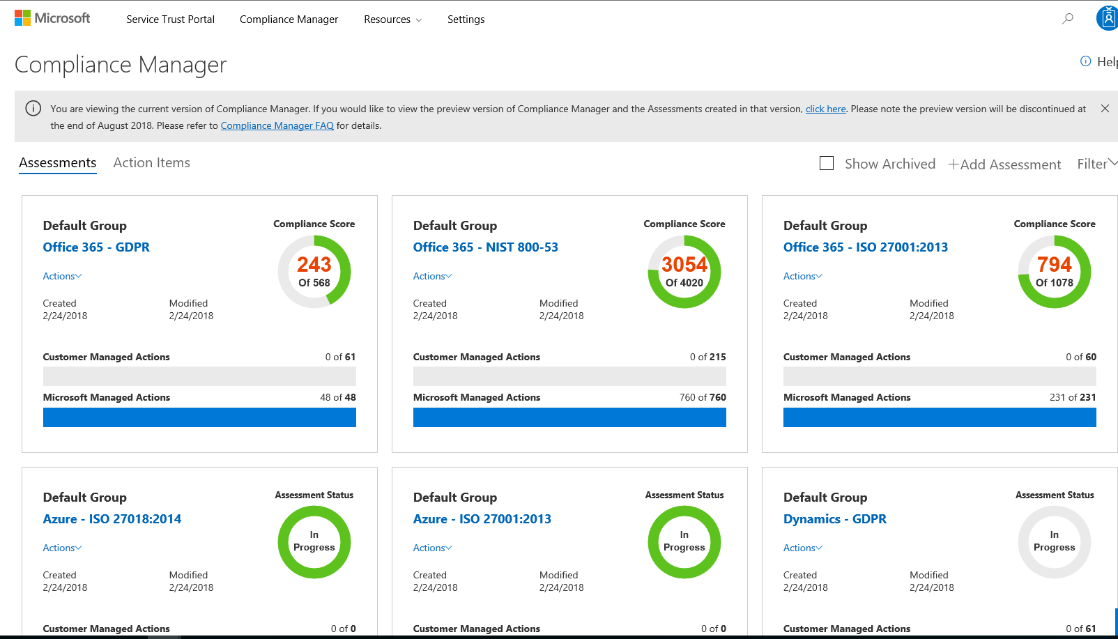 What does Microsoft Compliance Manager do?