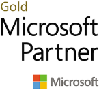 e-Microsoft Gold Logo_ Square