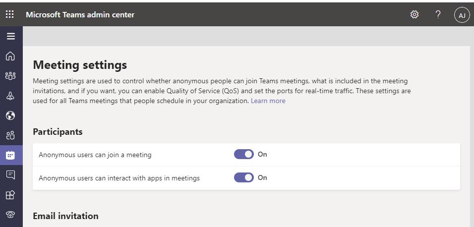 Invite Only Microsoft Teams