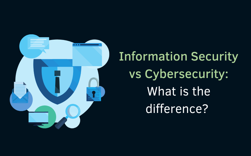 Information Security vs. Cybersecurity : What is the difference?