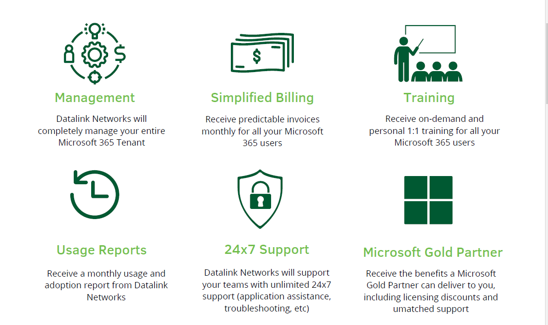 Microsoft 365 Managed Services - Benefits of Microsoft 365