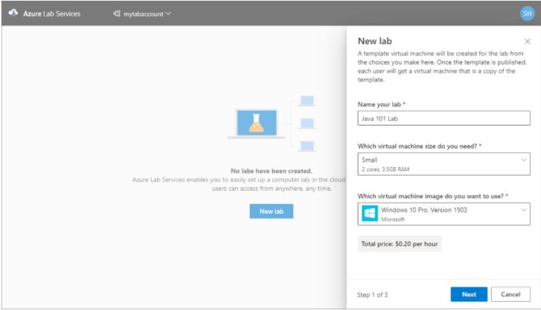 How to Setup Azure Labs